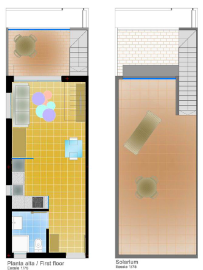 Top floor lay-out