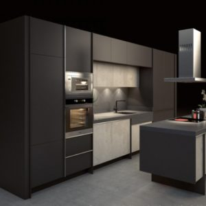 Dark kitchen option