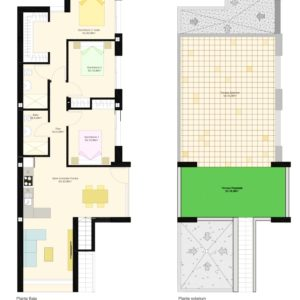 3 bedroom version lay-out