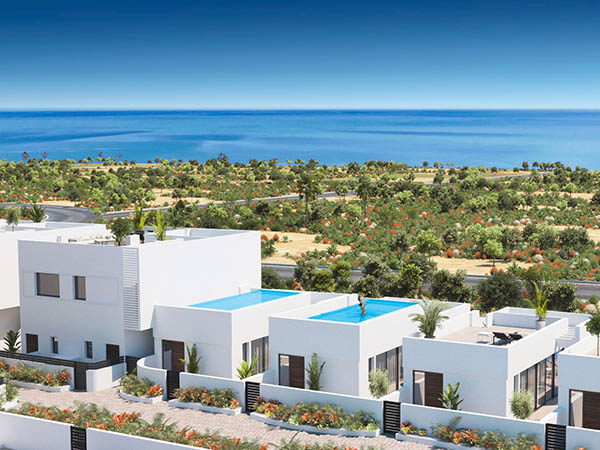 Properties Homes with superb Sea views