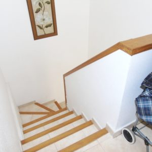 La Zenia Penthouse stairs to sunroof