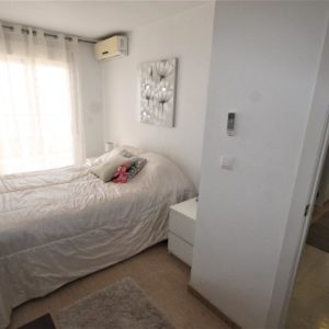 Torrevieja penthouse sea view master bedroom