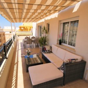 Torrevieja penthouse large terrace