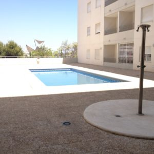 Torrevieja penthouse's pool
