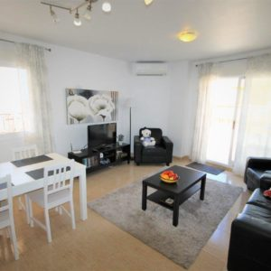 Torrevieja penthouse living room