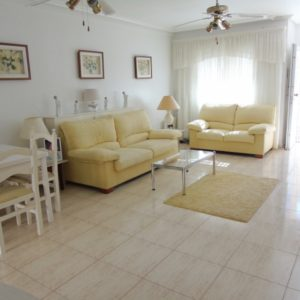 Townhouse living room area Las Marinas, La Zenia