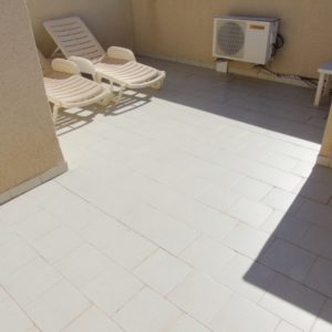 Townhouse roof terrace, Las Marinas, La Zenia