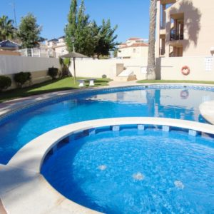 Townhouse community pool Las Marinas, La Zenia