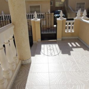 Townhouse yard Las Marinas, La Zenia