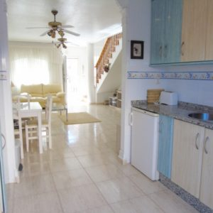 Townhouse kitchen Las Marinas, La Zenia