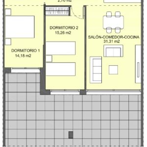 Villacosta club - first floor apartment