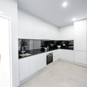 Full equipped kitchen in all apartments.